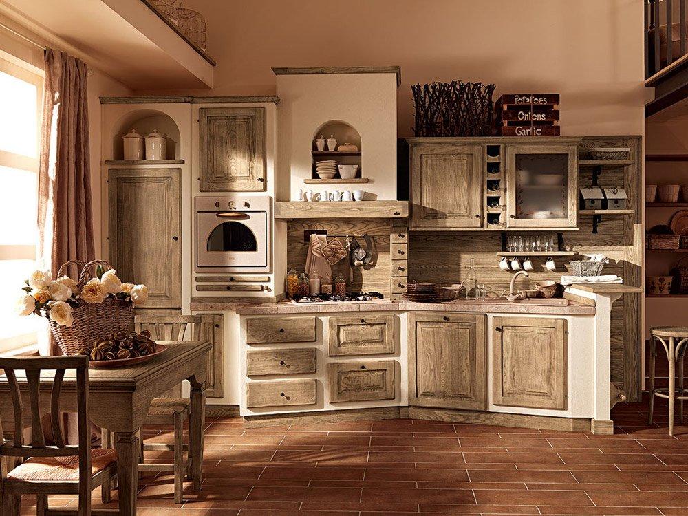 Cucine in muratura cucina paolina di oggi b da zappalorto for Cucine in muratura