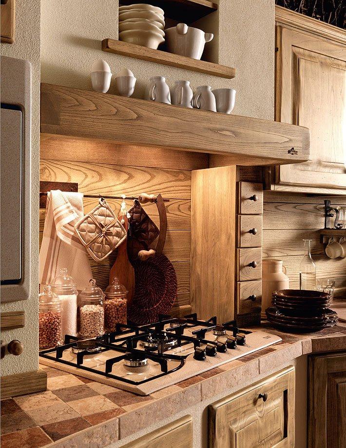 Cucine in muratura cucina paolina di oggi b da zappalorto - Cucine in muratura immagini ...