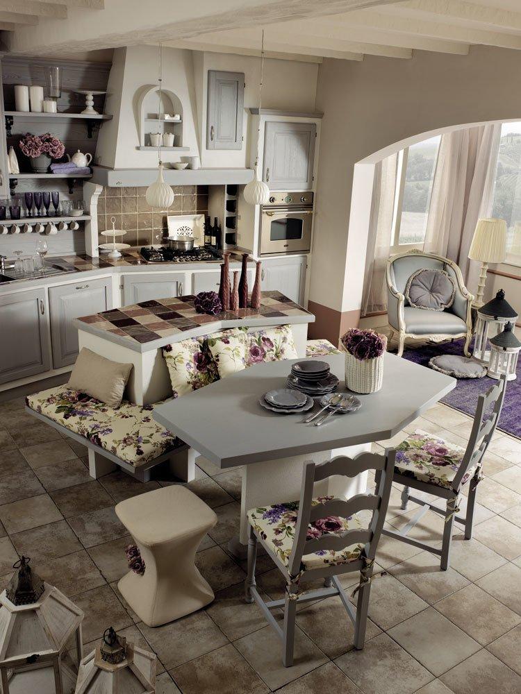 Cucine in muratura cucina sogno di oggi b da zappalorto for Cucine in muratura