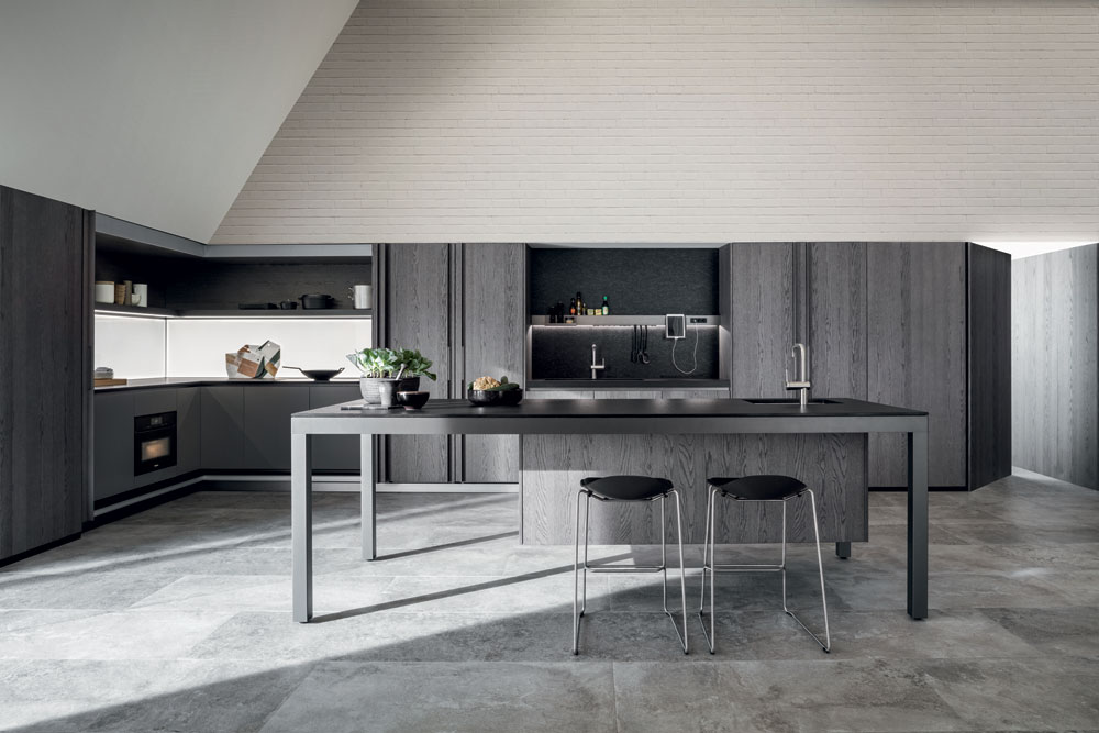 Self contained kitchens and islands kitchen tival b by dada - Kitchen self design ...
