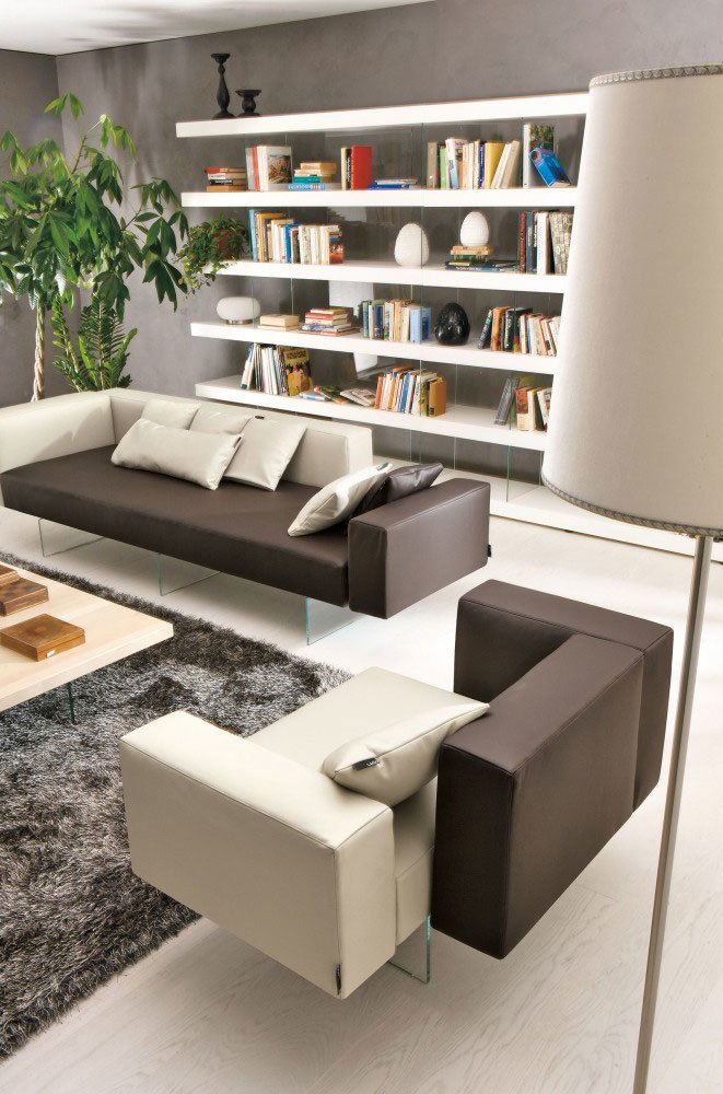Corner Sofas: Set Air 406 by Lago
