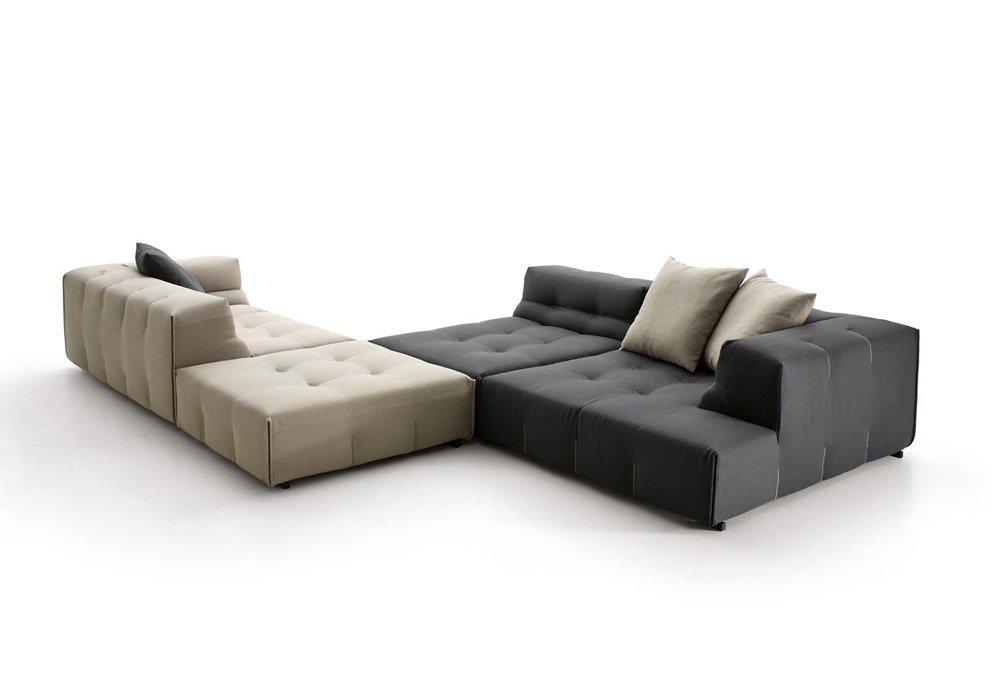 B b italia ecksofas sofakombination tufty too designbest for B b divani italia