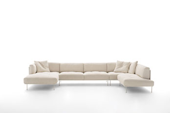 Sofa Rod Modular by Living Divani