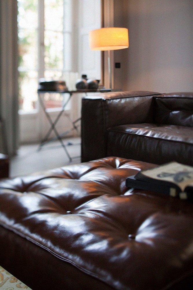 Divani con penisola composizione glamour da doimo sofas for Divani trentino alto adige