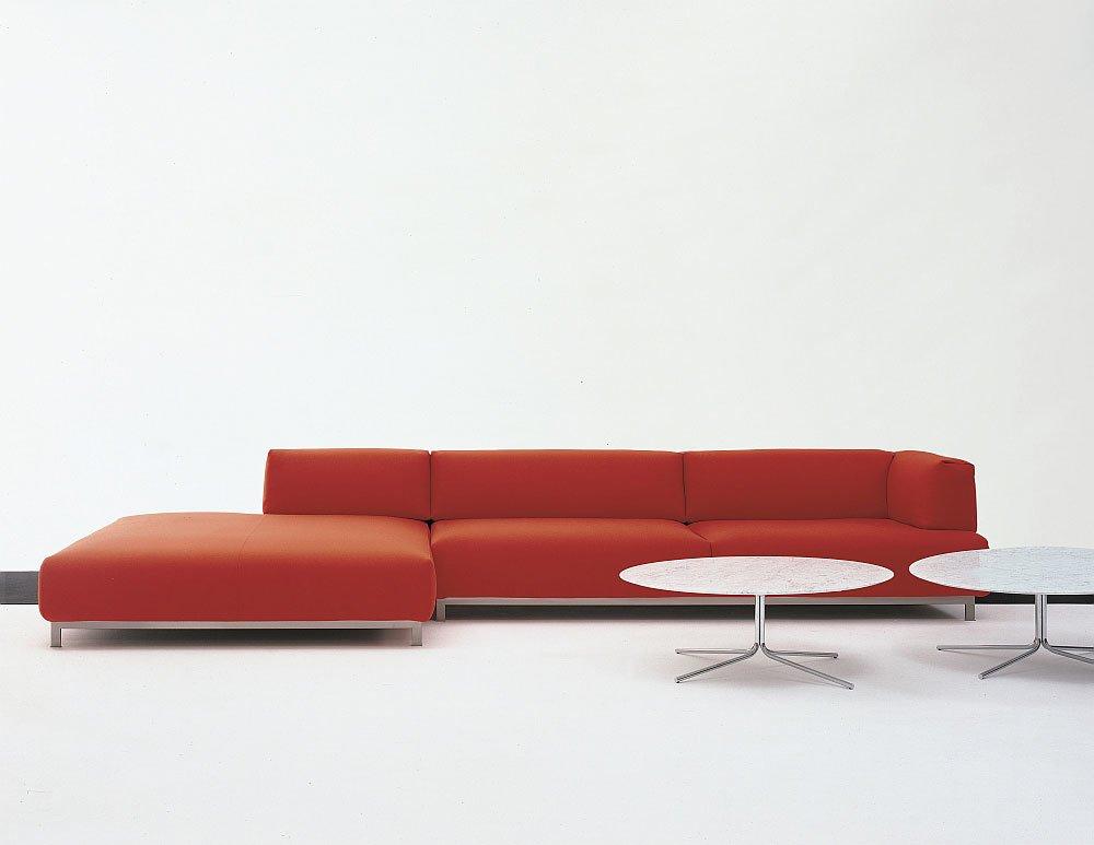 Modular Sofas: Arrangement Metro² by Living Divani