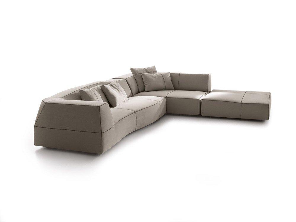 Divani con penisola composizione bend sofa da b b italia for Divani sofa varese