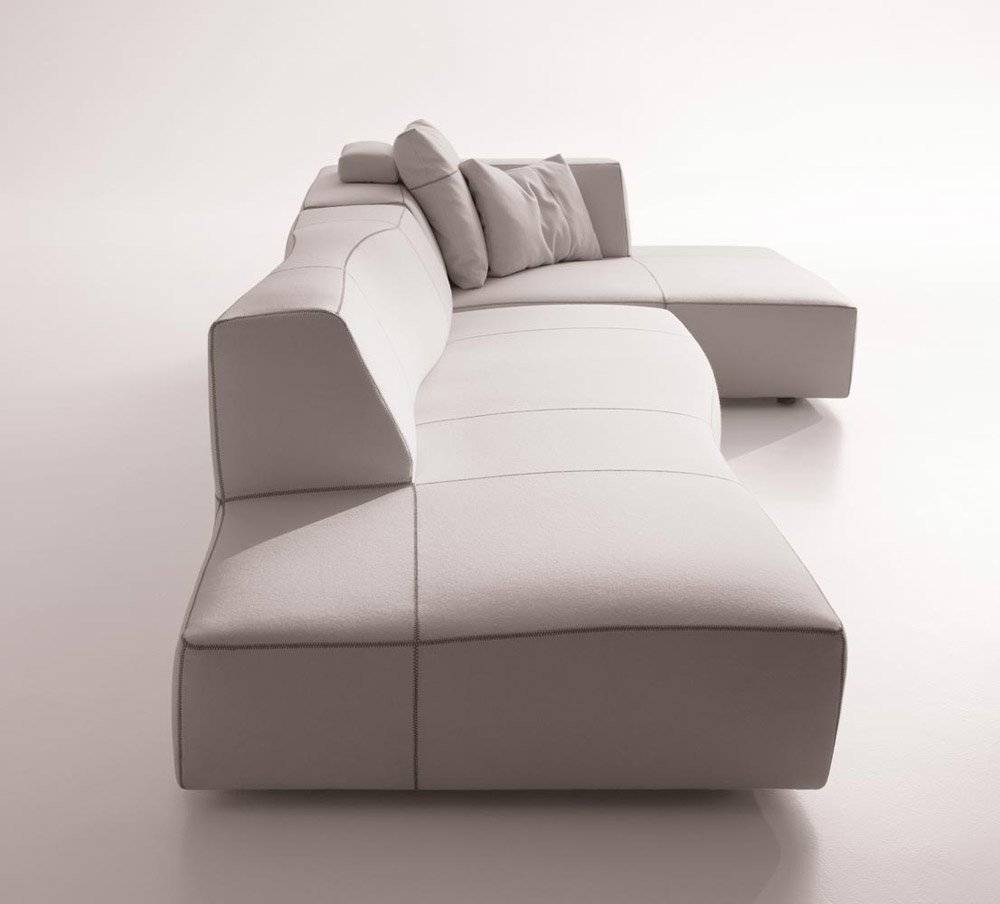 Modular Sofas Set Bend Sofa By B B Italia