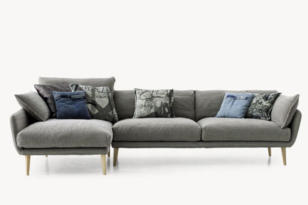Canapé Sister Ray Sofa de Diesel Living With Moroso