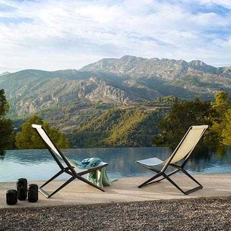 Poltroncina Branch Beach Chair