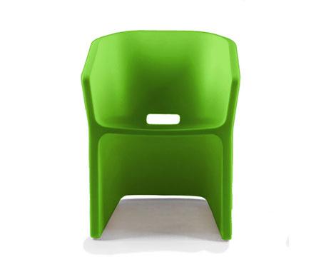 Small Armchair Sliced Chair