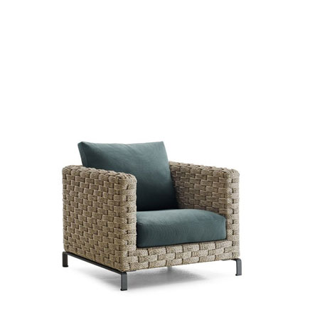 Armchair Ray Outdoor Natural