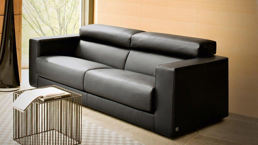Divani due posti divano ugo da busnelli for Divani letto trento