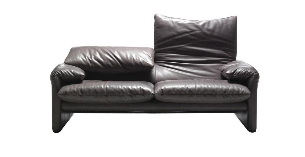 Divani due posti divano maralunga da cassina - Divano cassina maralunga ...