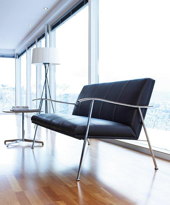 Lammhults Zwei Sitzer Sofas Sofa Sahara Designbest