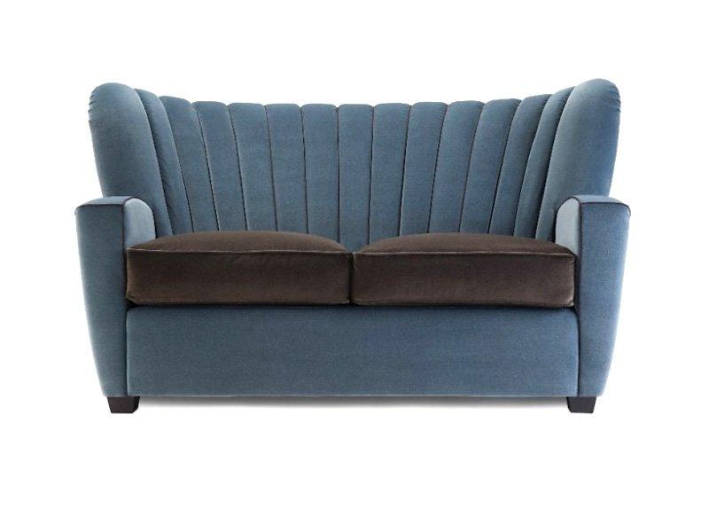Divani due posti divano zarina divanetto da adele c for Divani larghezza 150 cm