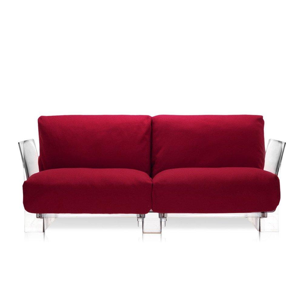 Divani due posti divano pop da kartell - Amazon divani due posti ...