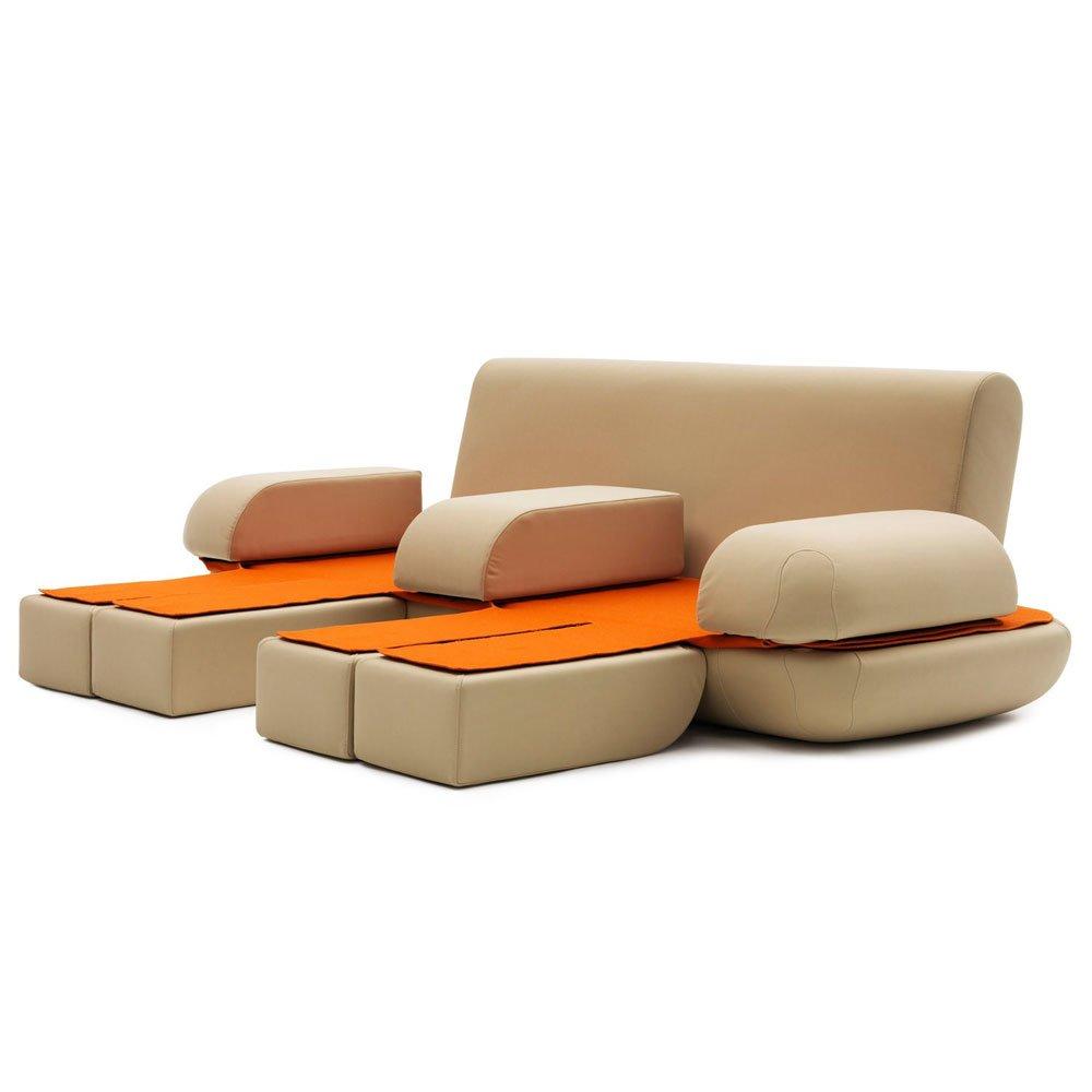 divani letto divano letto dynamic life da campeggi. Black Bedroom Furniture Sets. Home Design Ideas