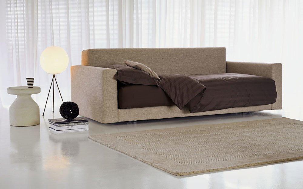 Divani letto divano letto piazzaduomo da flou - Letto biss flou ...