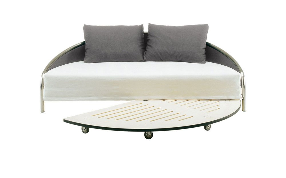 Divano letto trasformabile design moderno mod ulisse for Divano letto trasformabile