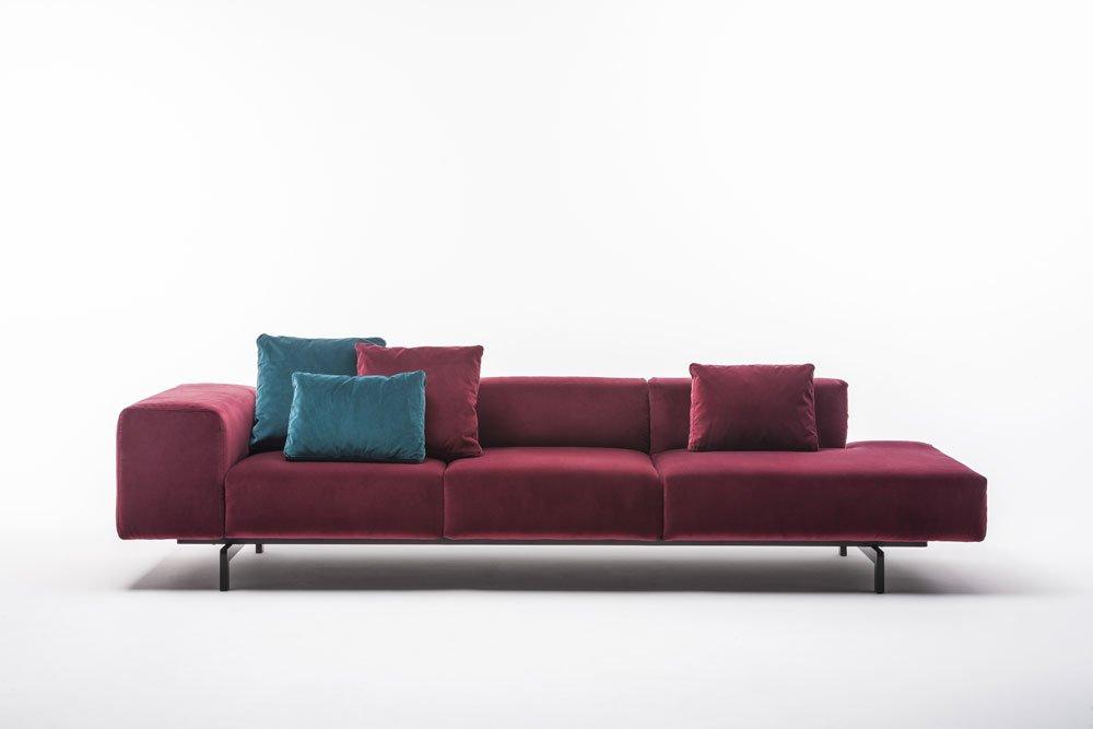 Four seater sofas sofa largo by kartell for Divani kartell outlet
