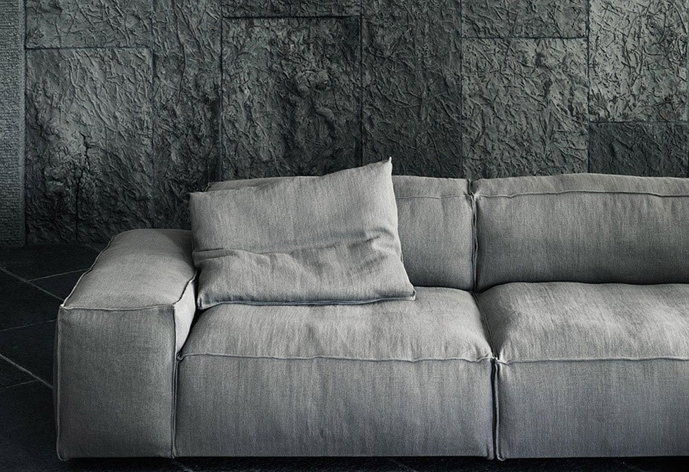 four seater sofas sofa neowall by living divani. Black Bedroom Furniture Sets. Home Design Ideas