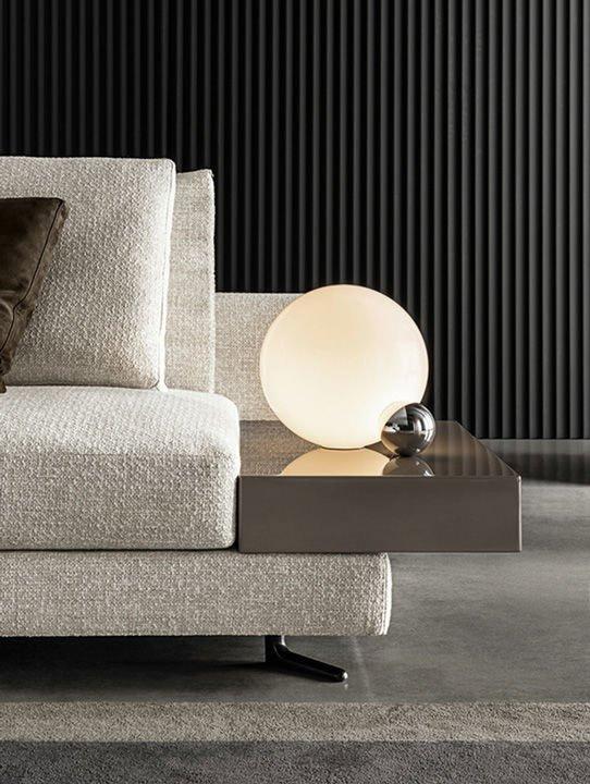 Four Seater Sofas Sofa White By Minotti