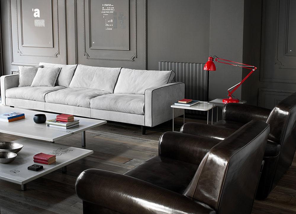 Divani quattro o pi posti divano stoccolma da baxter for Divano quattro posti