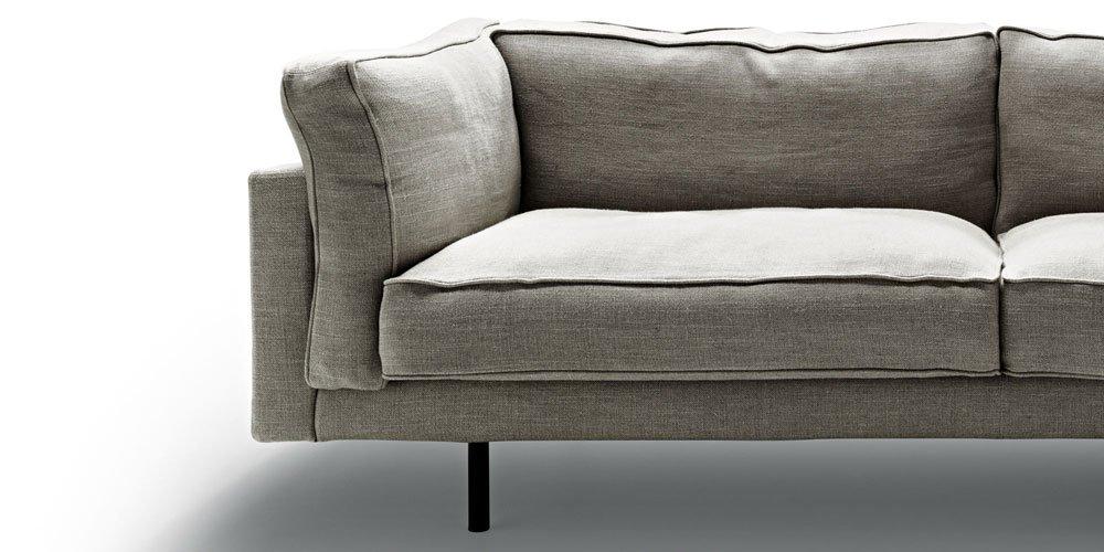 three seater sofas sofa square 16 by de padova