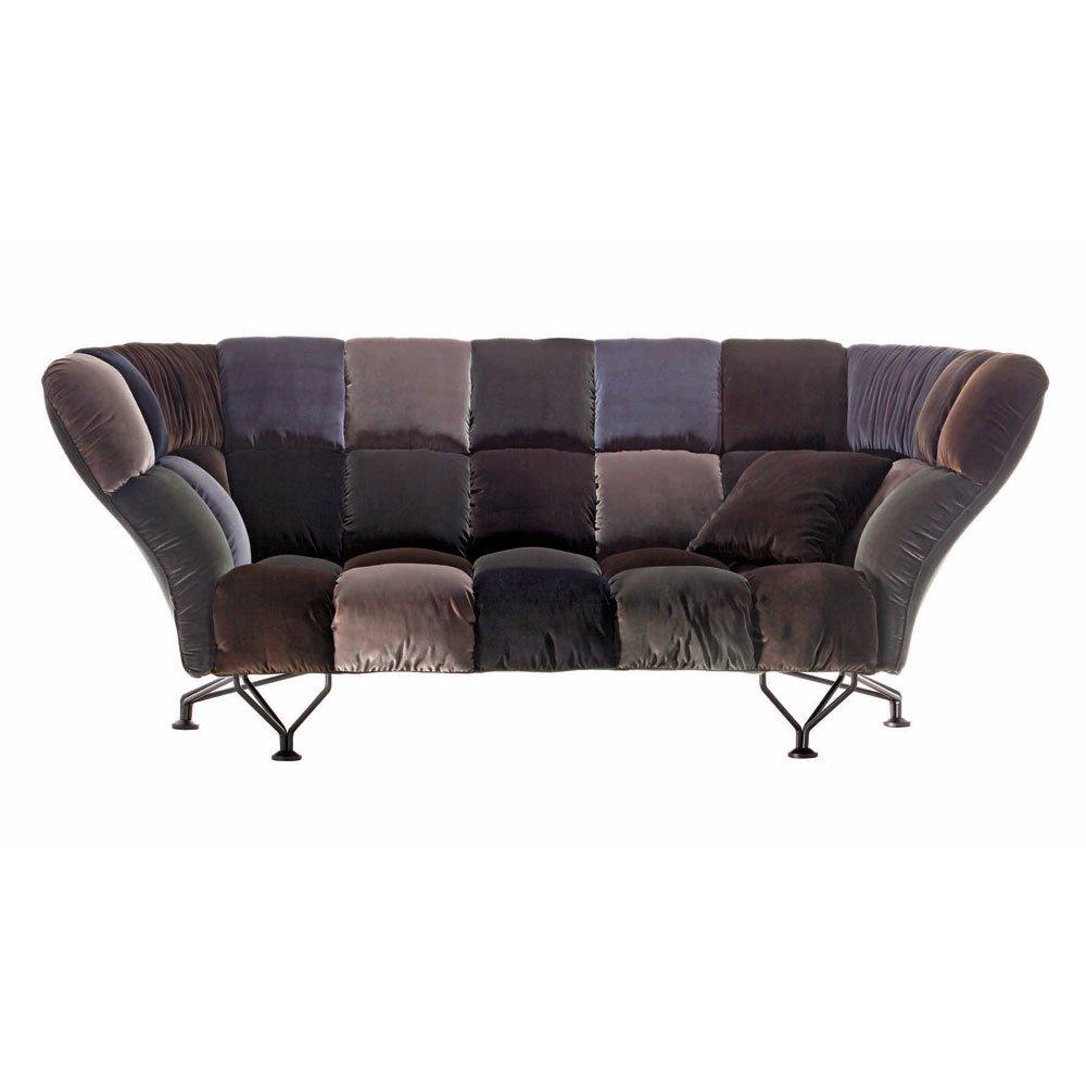 Divani tre posti divano 33 cuscini da driade for Divani a tre posti
