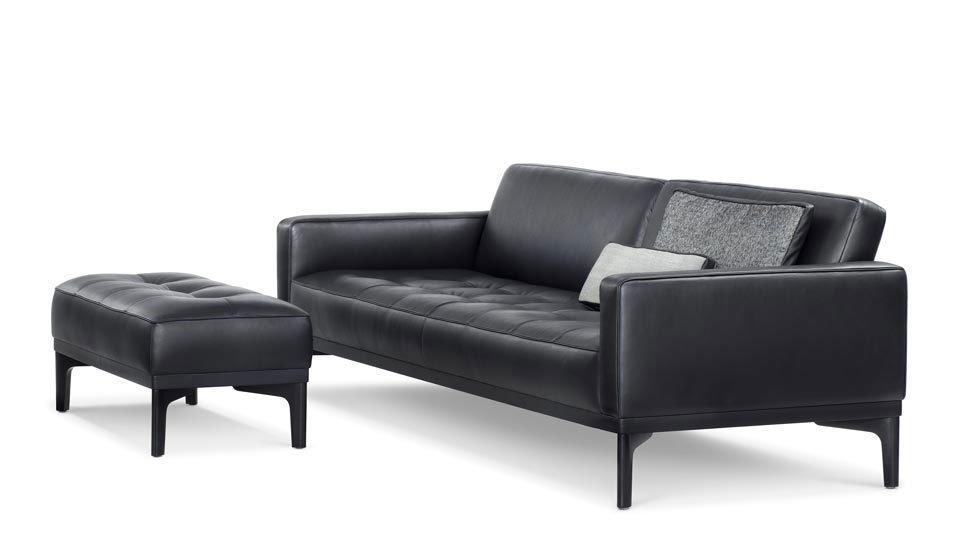 wittmann drei sitzer sofas sofa joyce designbest. Black Bedroom Furniture Sets. Home Design Ideas