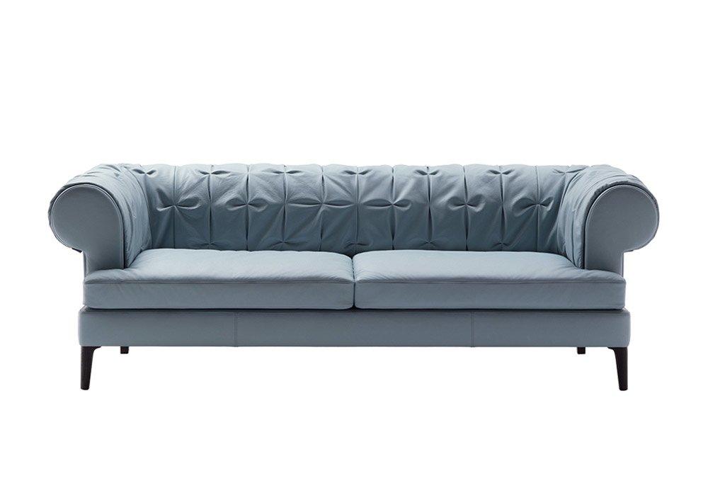 Divani tre posti divano mant da poltrona frau for Frau divano