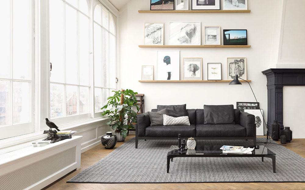 cor drei sitzer sofas sofa elm designbest. Black Bedroom Furniture Sets. Home Design Ideas