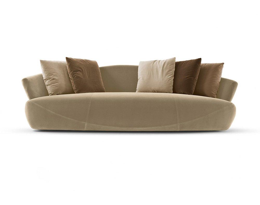 Divani tre posti divano solemyidae da giorgetti for Designbest outlet