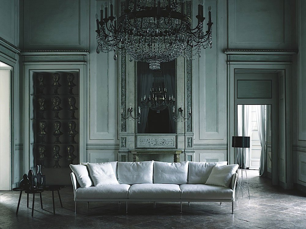 Divani tre posti divano curve da living divani for Divani a tre posti