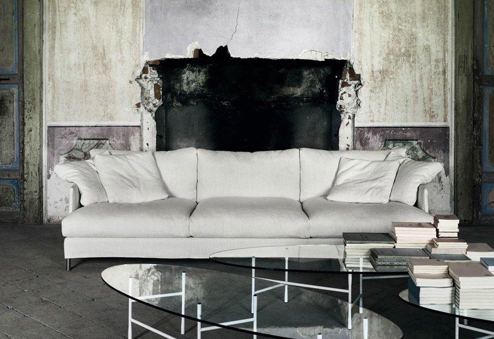 Three-Seater Sofas: Sofa Chemise XL by Living Divani