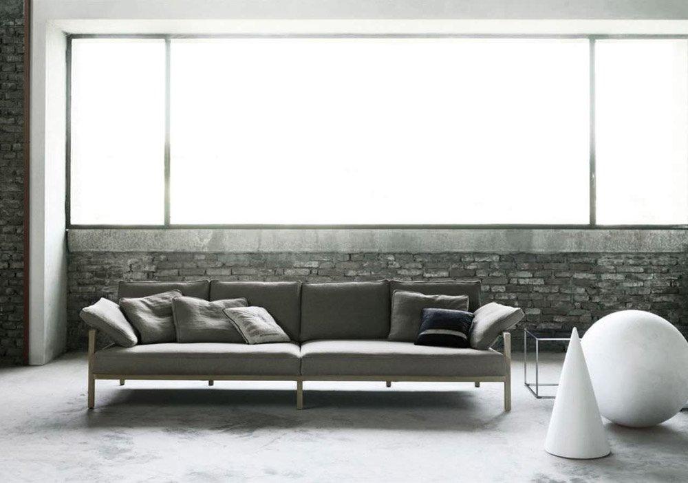 Divani tre posti divano chromatic da living divani for Outlet webmobili