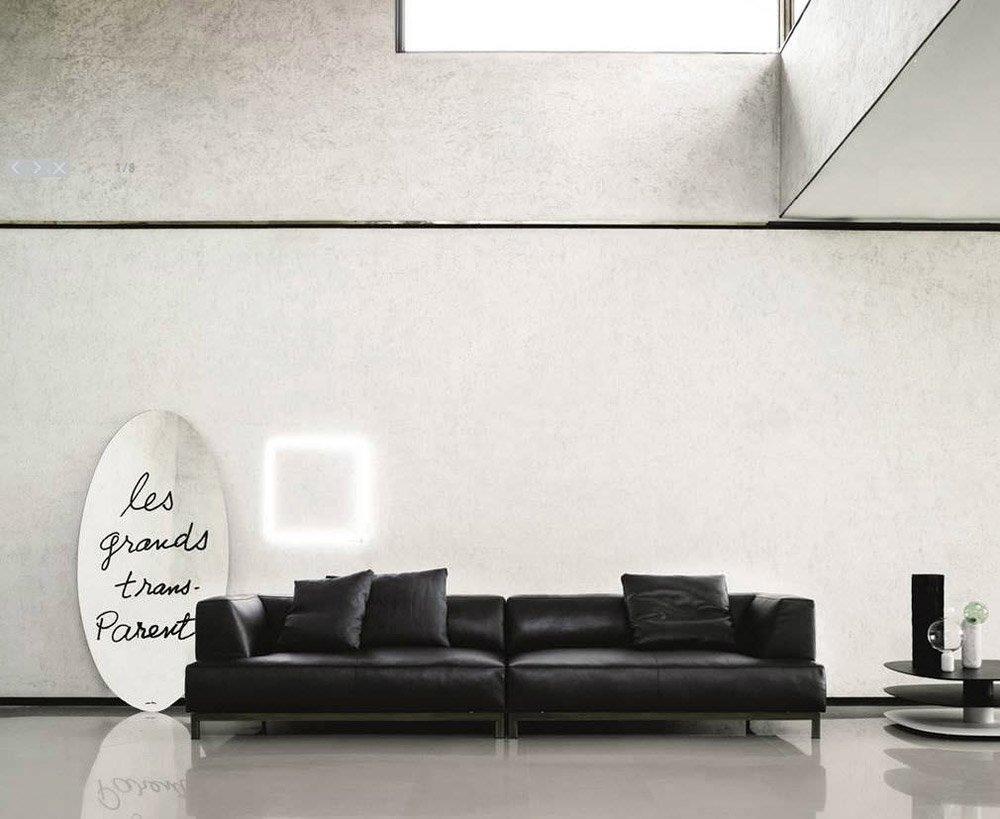 Three-Seater Sofas: Sofa Metrocubo by Living Divani