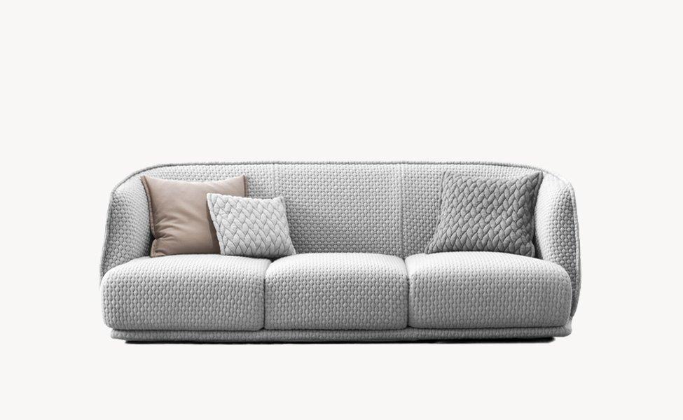 Three seater sofas sofa redondo by moroso for Sofas redondos