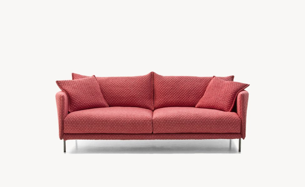 three seater sofas sofa gentry by moroso. Black Bedroom Furniture Sets. Home Design Ideas