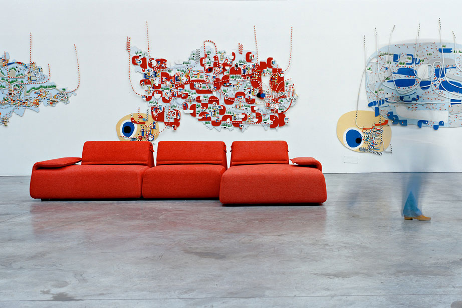 Three Seater Sofas Sofa Highlands By Moroso