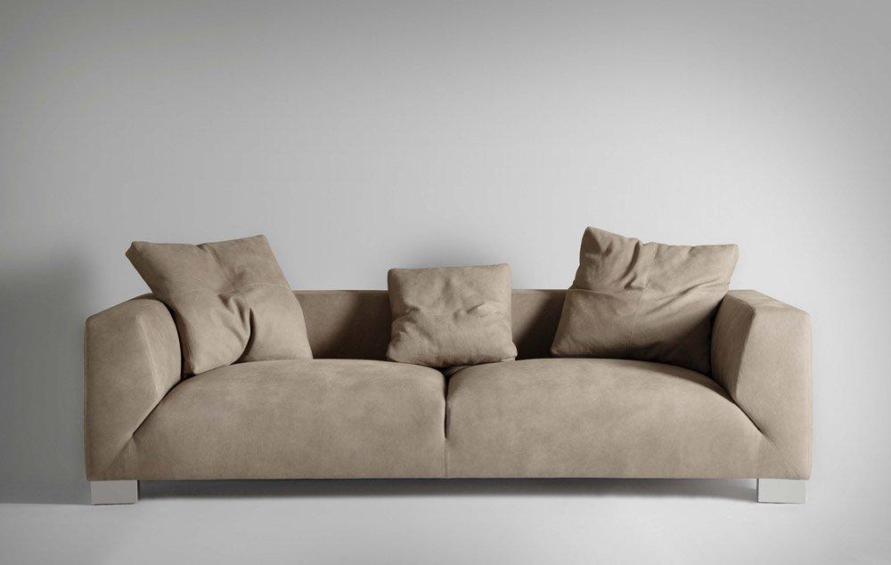 Divani tre posti divano gordon da valdichienti for Divani trentino alto adige