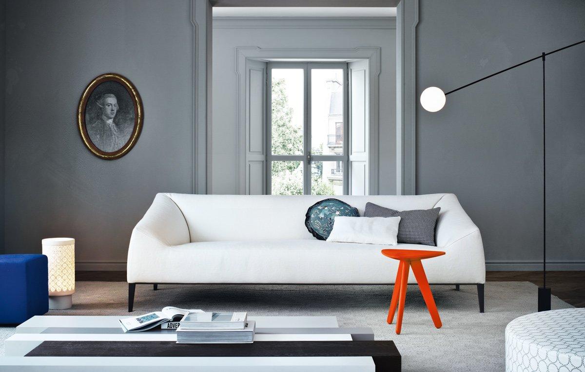 Divani tre posti divano carmel da poliform - Poliform park letto ...
