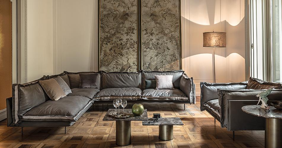 Divani tre posti divano auto reverse da arketipo for Divani sofa varese
