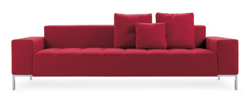 zanotta drei sitzer sofas sofa alfa designbest. Black Bedroom Furniture Sets. Home Design Ideas