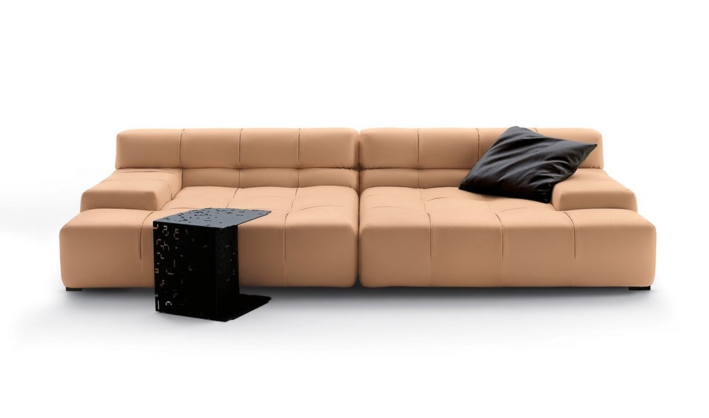 Three seater sofas sofa tufty time by b amp b italia