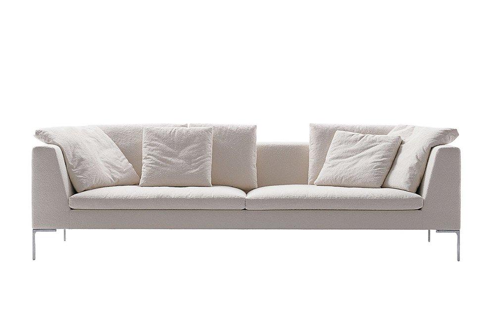 divani tre posti divano charles large da b b italia. Black Bedroom Furniture Sets. Home Design Ideas