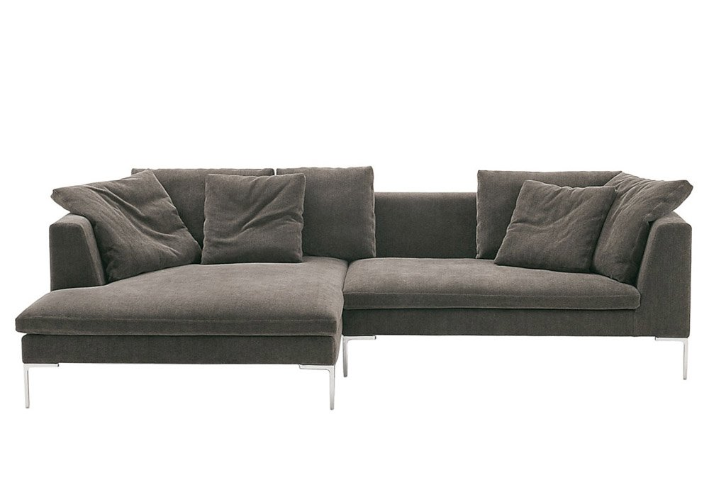 b b italia drei sitzer sofas sofa charles large designbest. Black Bedroom Furniture Sets. Home Design Ideas