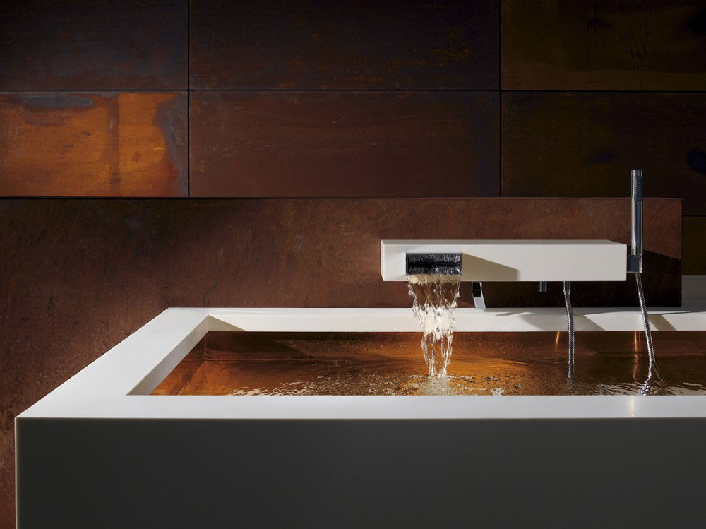 Dusche Ohne Wanne Selber Bauen : Wall Mounted Tub Filler