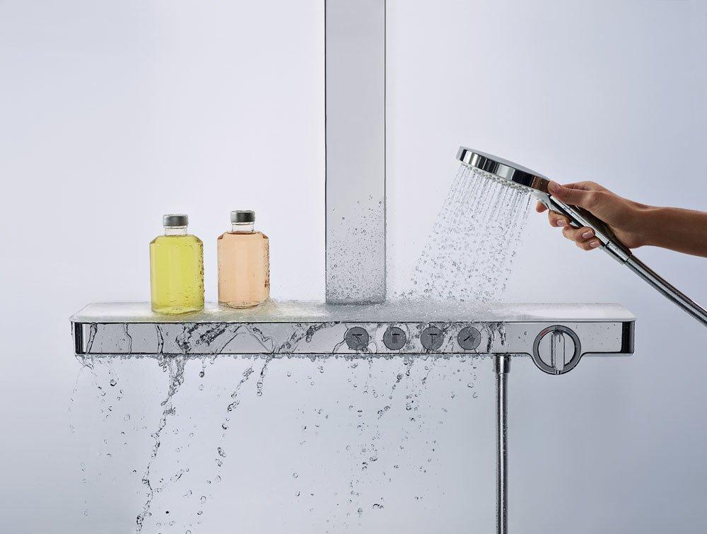 hansgrohe armaturen f r dusche und wanne duscharmatur. Black Bedroom Furniture Sets. Home Design Ideas