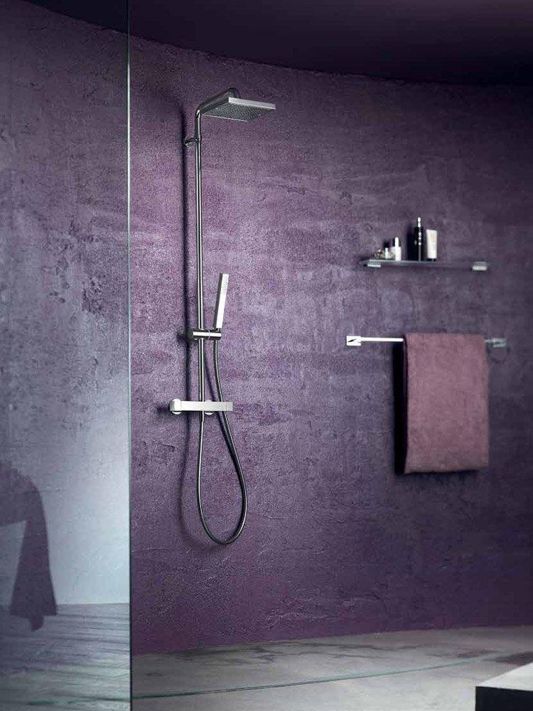 Gruppi doccia e vasca gruppo doccia tower da nobili for Gruppo doccia